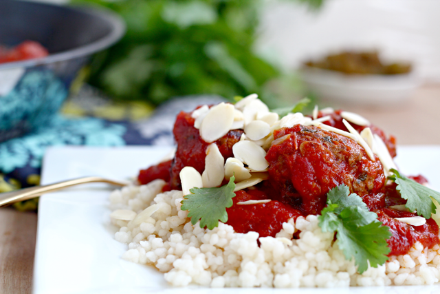 Kosher Slow Cooker Morrocan Meatballs