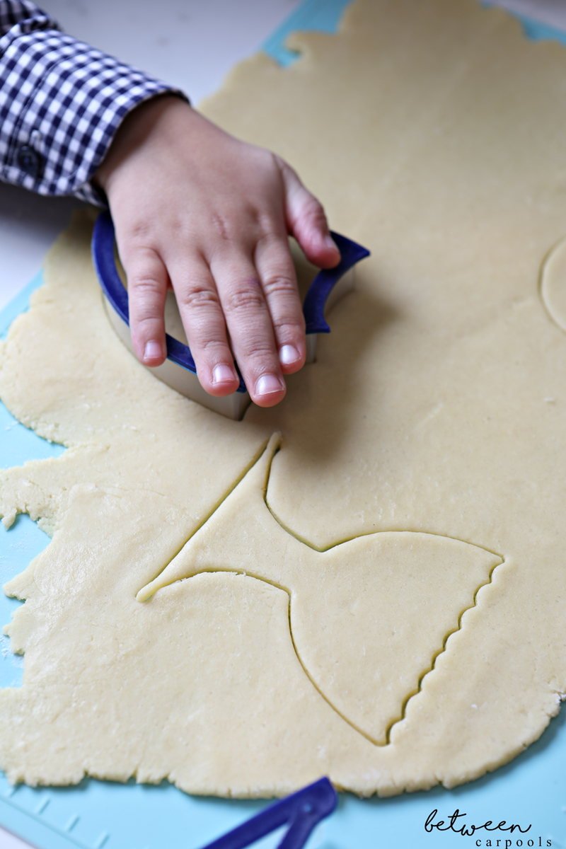 Not running out to a party tonight? Have fun creating Chanukah Sugar Cookies.