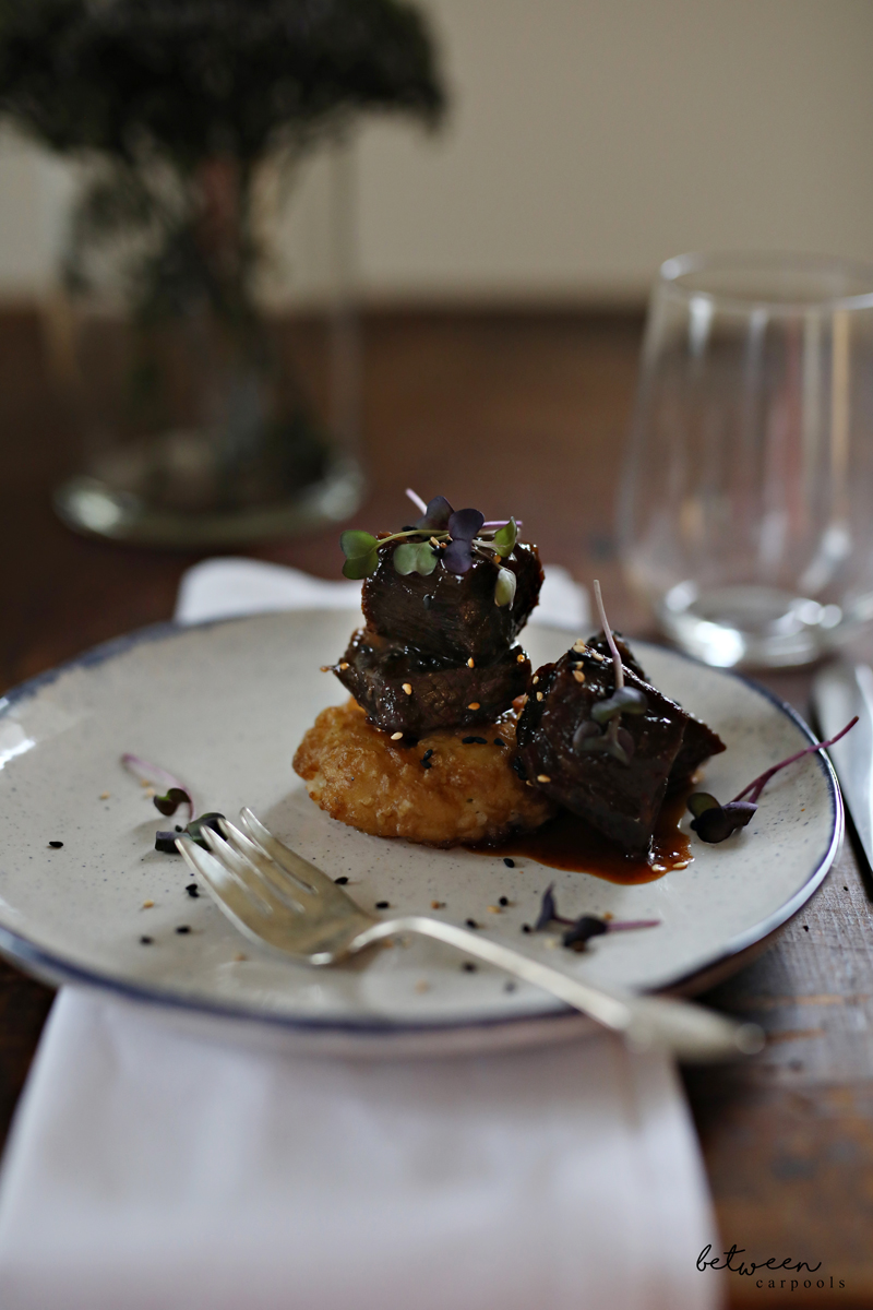 Braised Beef Recipe. Tempura Rice and Braised beef.