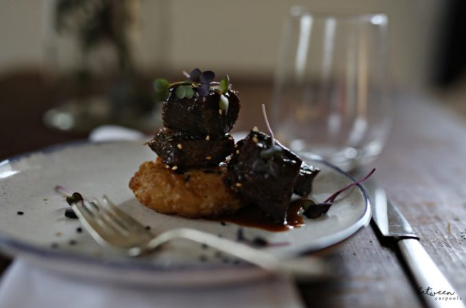BBQ Braised Beef Recipe. Tempura Rice and Braised beef.