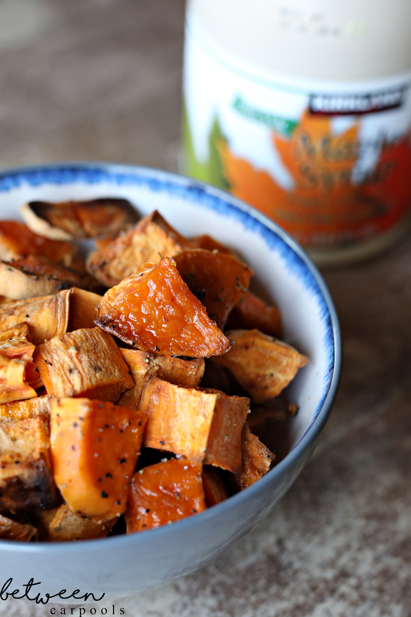 Two Ingredient Side Dishes: Maple Sweet Potatoes These are the side dishes you'll make the most often in the least amount of time.