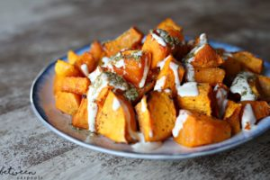 Two-Ingredient Side Dishes: Butternut Squash with Techina and Za'atar. These are the side dishes you'll make the most often in the least amount of time.