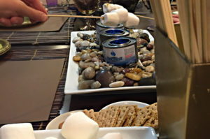 The Winter S'Mores Bar