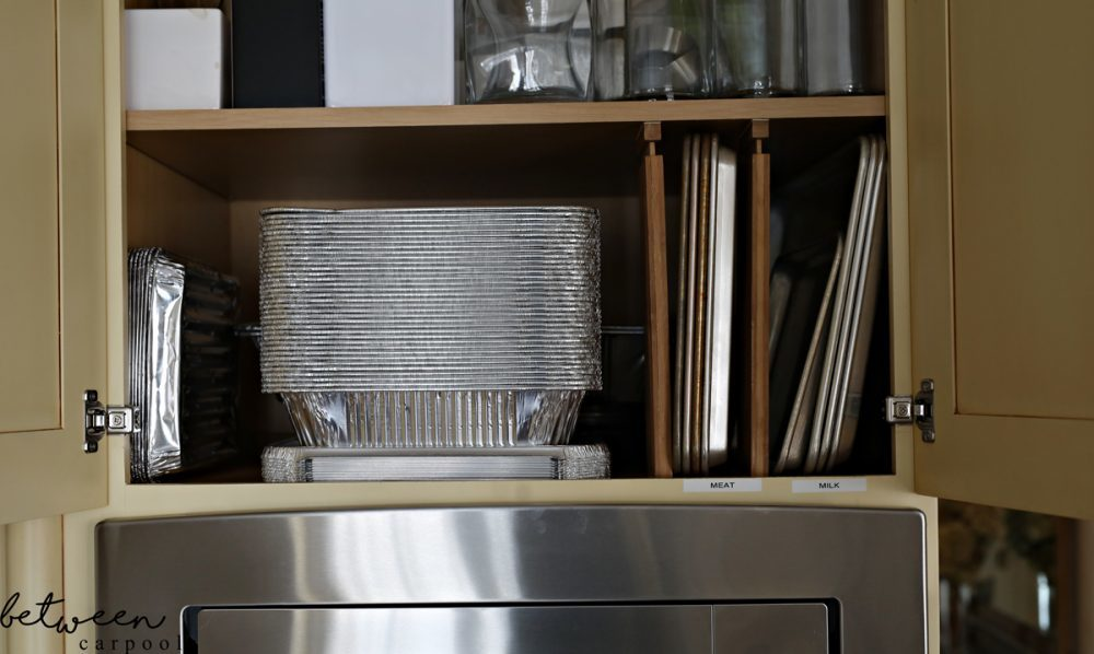 My Labeling Obsession. Stop Two: Baking Sheet Storage. Want your home not just to get organized, but to stay organized? In this 4-part series, we visit different parts of the house where labels are very, very welcome.