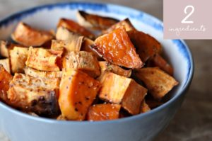 Two-Ingredient Side Dishes: Maple Sweet Potatoes