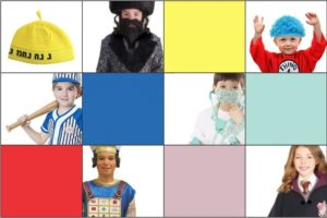 Stumped? Have no clue what your kids will be for Purim? This might help.