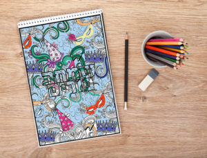 Spread the Joy with This Great Pre-Purim Activity. Free Coloring Pages Download!