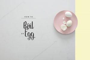 How to Boil an Egg. (Because, yes, there's lots of different ways to do it!)