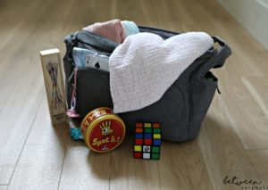 o Your Kids Get Bored at Family Simchas? Carry toys in your diaper bag.