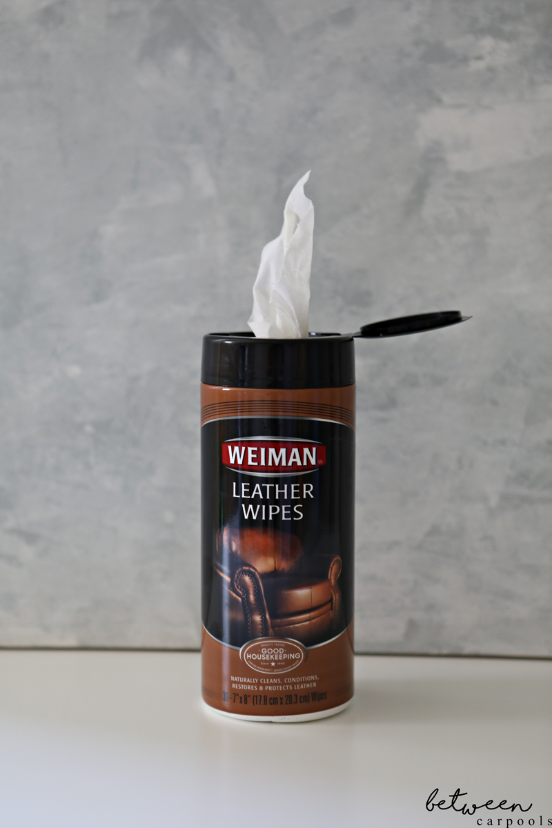 Weiman Leather Wipes. 3 Wipes You Should Never Be Without (and None of Them Are for the Baby). Life is hectic. Take every shortcut possible. Here's how I take my cleaning shortcuts without skimping on cleanliness.