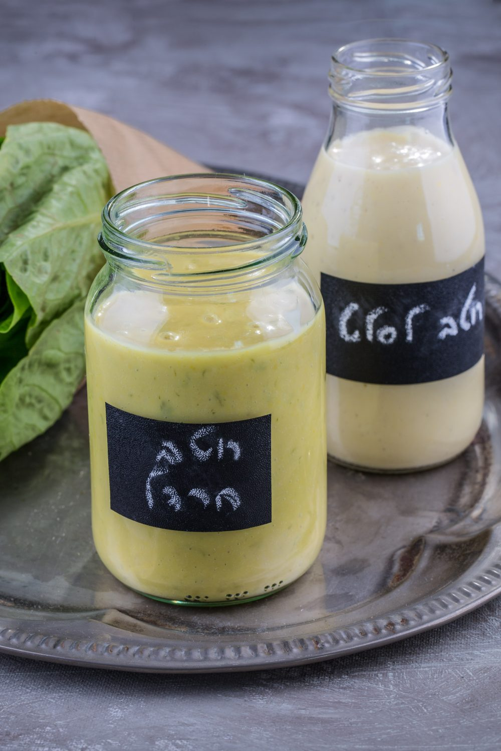 The 2 Homemade Salad Dressings That Efrat Always Keep in Her Fridge. Impromptu, fresh salads are great...but the dressing should always be there for you, ready and waiting. Here's 2 of my favorites that always are. By Efrat Libfroind