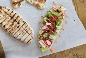 Make Your Own Grilled Flatbread on Your Outdoor BBQ in Minutes
