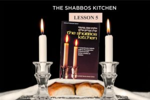 Week 5: The Shabbos Home. Weekly Halacha Continues