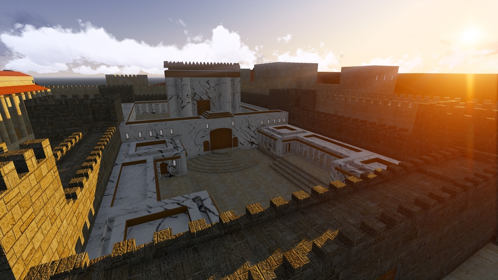 Second Temple of Jerusalem. The nine days.