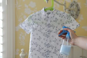 Creased Tablecloth? Not in the Mood to Iron Clothes? Make-Your-Own Wrinkle Release