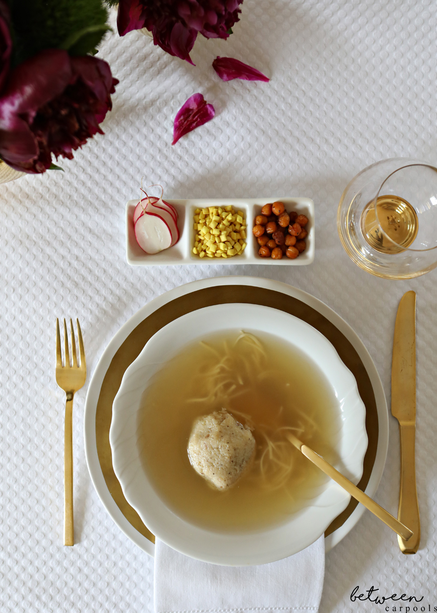 And You Thought There Wasn't a New Way to Serve Your Chicken Soup. Even the basics, like chicken soup, can be dressed up with a little extras.