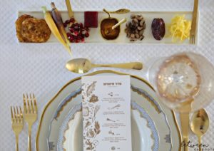 UPDATED: This is Just What Your Rosh Hashanah Table Needs (Plus! Free Simanim Cards!)