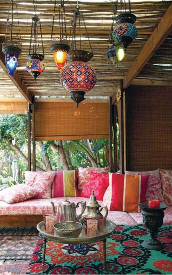 Decorate Your Own Moroccan-Inspired Sukkah