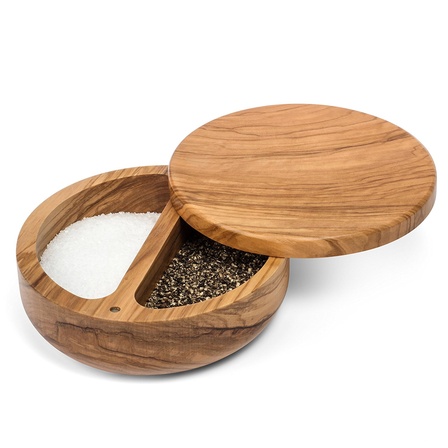 or salt cellars that also have a spot for pepper. You can find one that works for the way you cook and serve.
