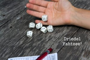 Family Time! Play Driedel Yahtzee This Chanukah. Download and Print Our Custom Scorecard.