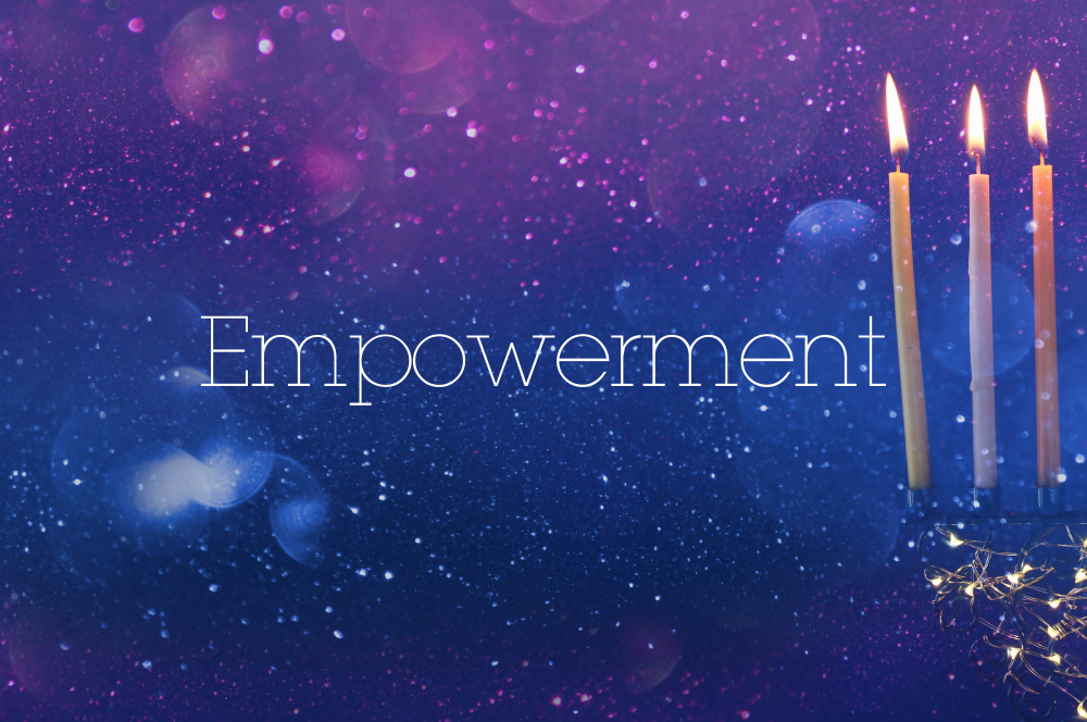 learn empowerment from Yehudis