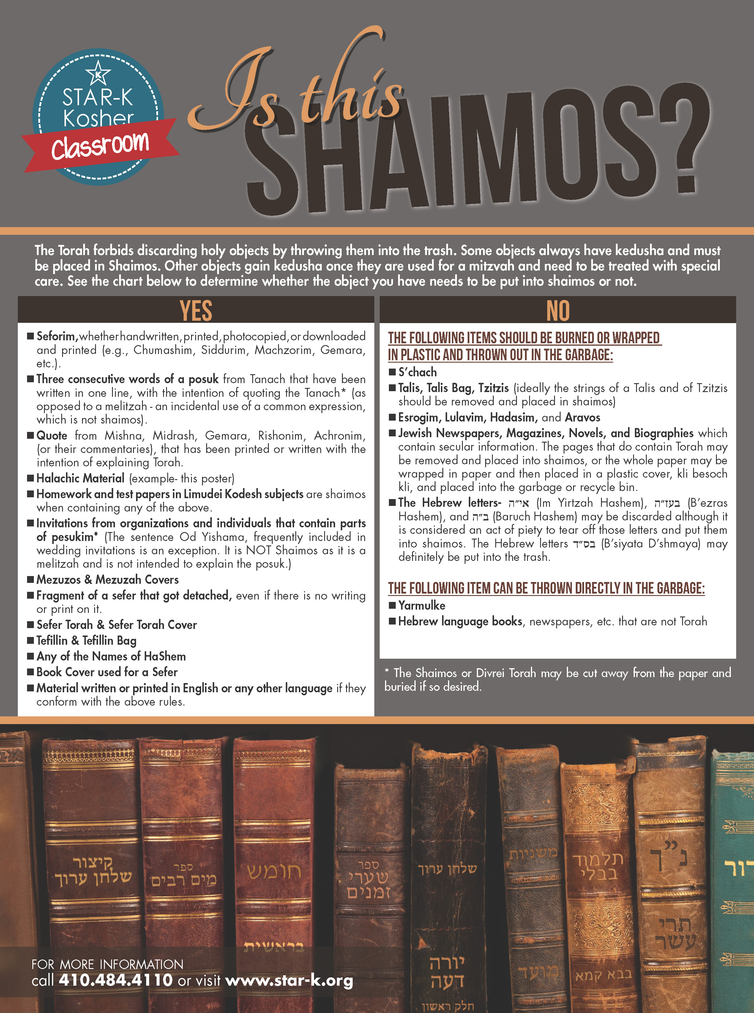 What is considered Shaimos