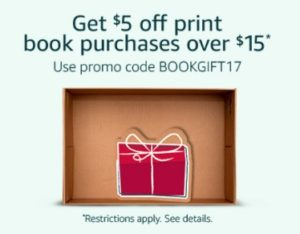Deals We Love: Save $5 Off A $15 Book Purchase Today!