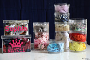 How to Perfectly Organize Hair Accessories