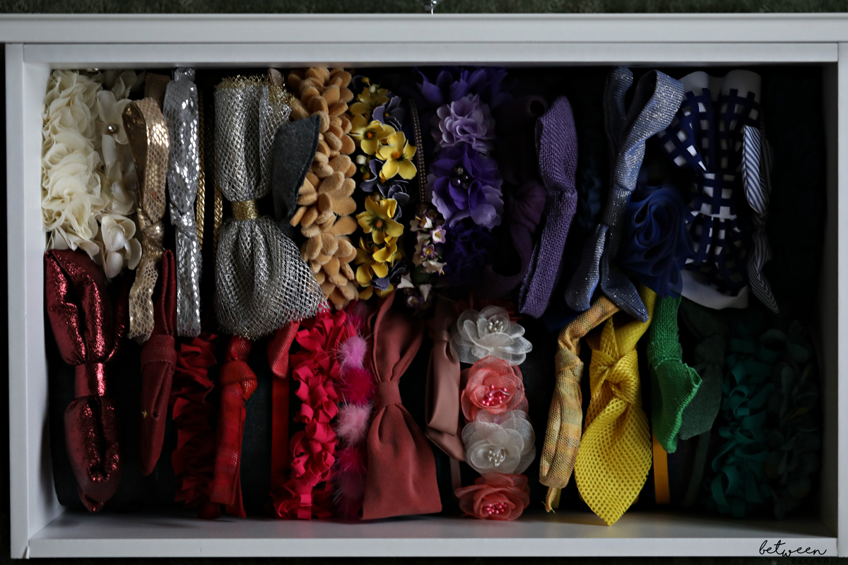 How to Perfectly Organize All Your Daughter's Hair Accessories