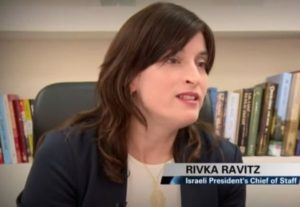 Go Get 'Em: Between Carpools Chats with Rivka Ravitz, the Chief of Staff to the Israeli President Reuven Rivlin