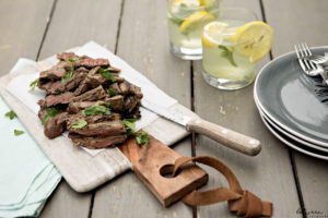 Chimichurri Skirt Steak is a BBQ Hit
