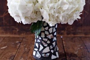 How to Make a DIY Mosaic Vase