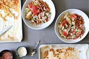 This Shawarma Sheet Pan Chicken is Going on Your Dinner Rotation