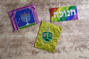 Introducing Your Chanukah Craft Activity: Embossed Foil Art!