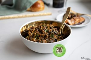 In Honor of Shabbos: Yussi Weisz's Mushroom Salad