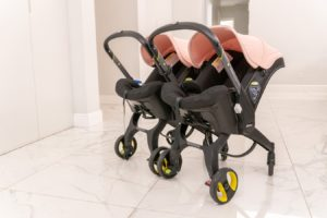 How to Turn Your Doona Into a Double Stroller