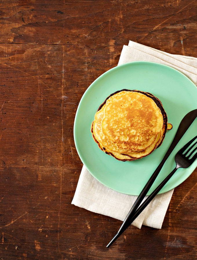 The Pesach Pancakes That Everyone Loves. They're healthy. They're tasty. And even your toddler will eat them.