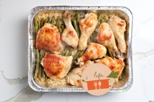 9×13 Life: Chicken with Rice and Green Beans