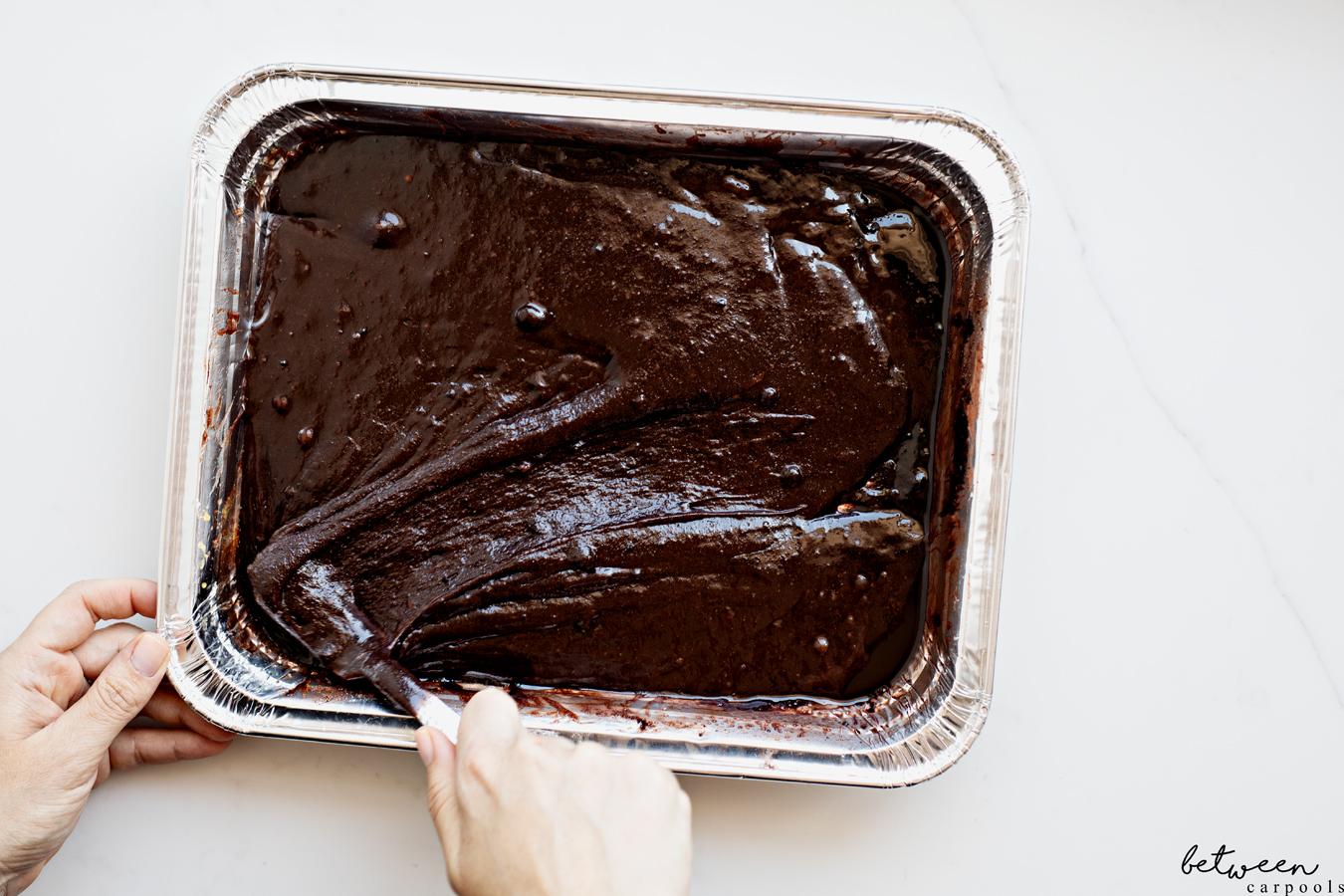 The 9x13 Life: Easy Mix-in-the-Pan Pesach Brownies. Isn't this the brownie recipe that you always wanted for Pesach?