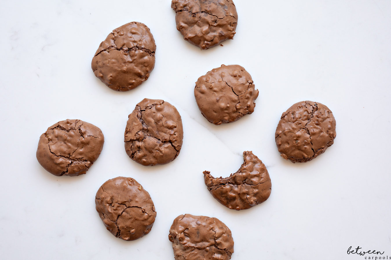 Chocolate Walnut Puffs and Coffee Ice Cream (We Can't Wait for Pesach to Enjoy This One!) Yes, these chocolate walnut cookies are amazing. Enjoy them as a snack or a complete dessert, served with coffee ice cream.