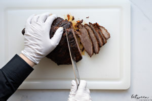 How to Cut Meat Across the Grain