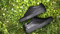 boys dark sneakers