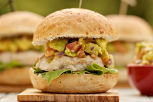 The Secret to Juicy Grilled Chicken Burgers (This One Won't Come Out Dry!)