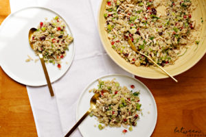 Make This Pomegranate Studded Quinoa Salad for Yom Tov
