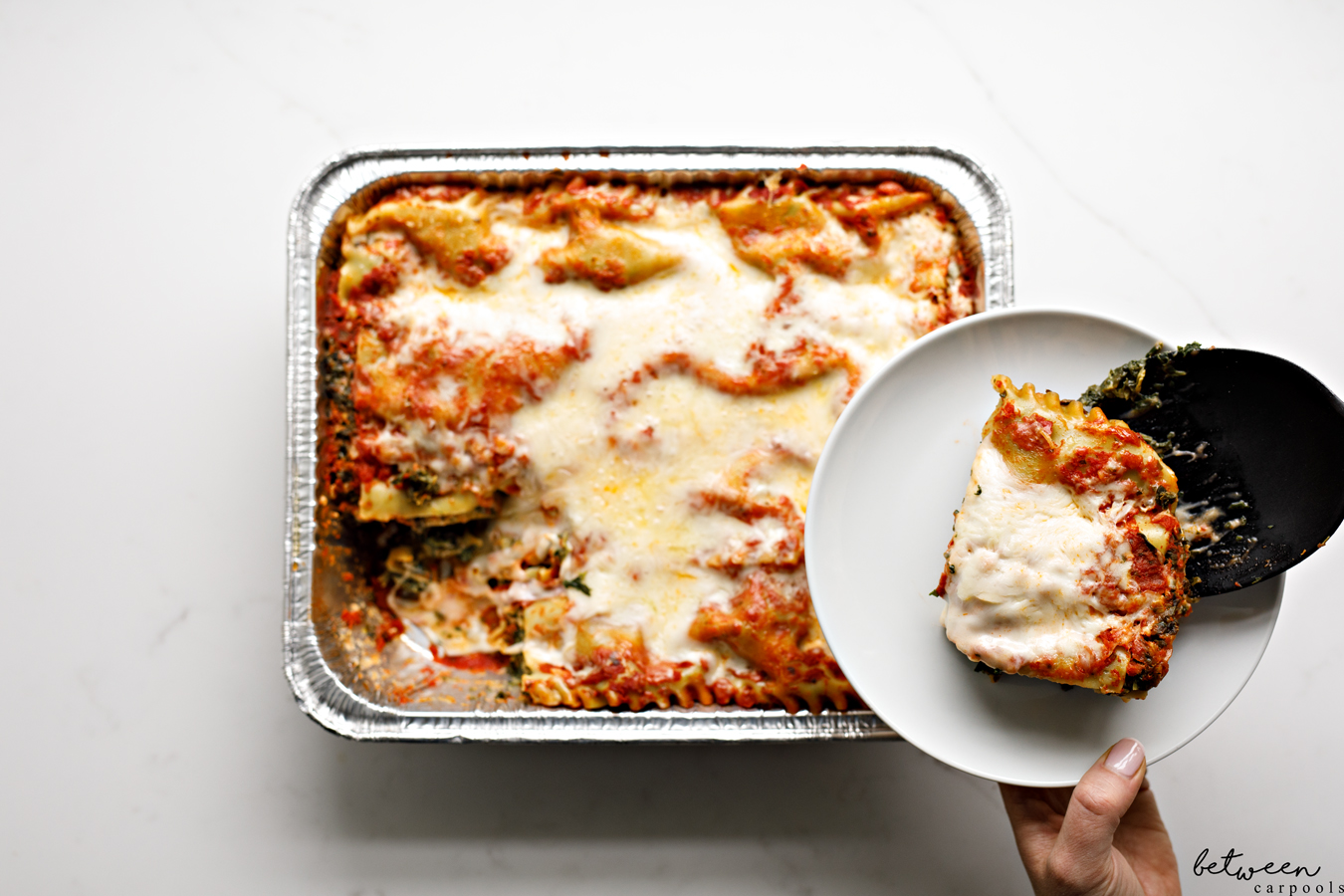 The 9x13 Life: Easy Lasagna That Tastes So Gourmet. Make this during the 9 days. Or to enjoy during a long, cozy winter night. Or keep it in the freezer to pull out for those nights when dinner just isn't going to happen.