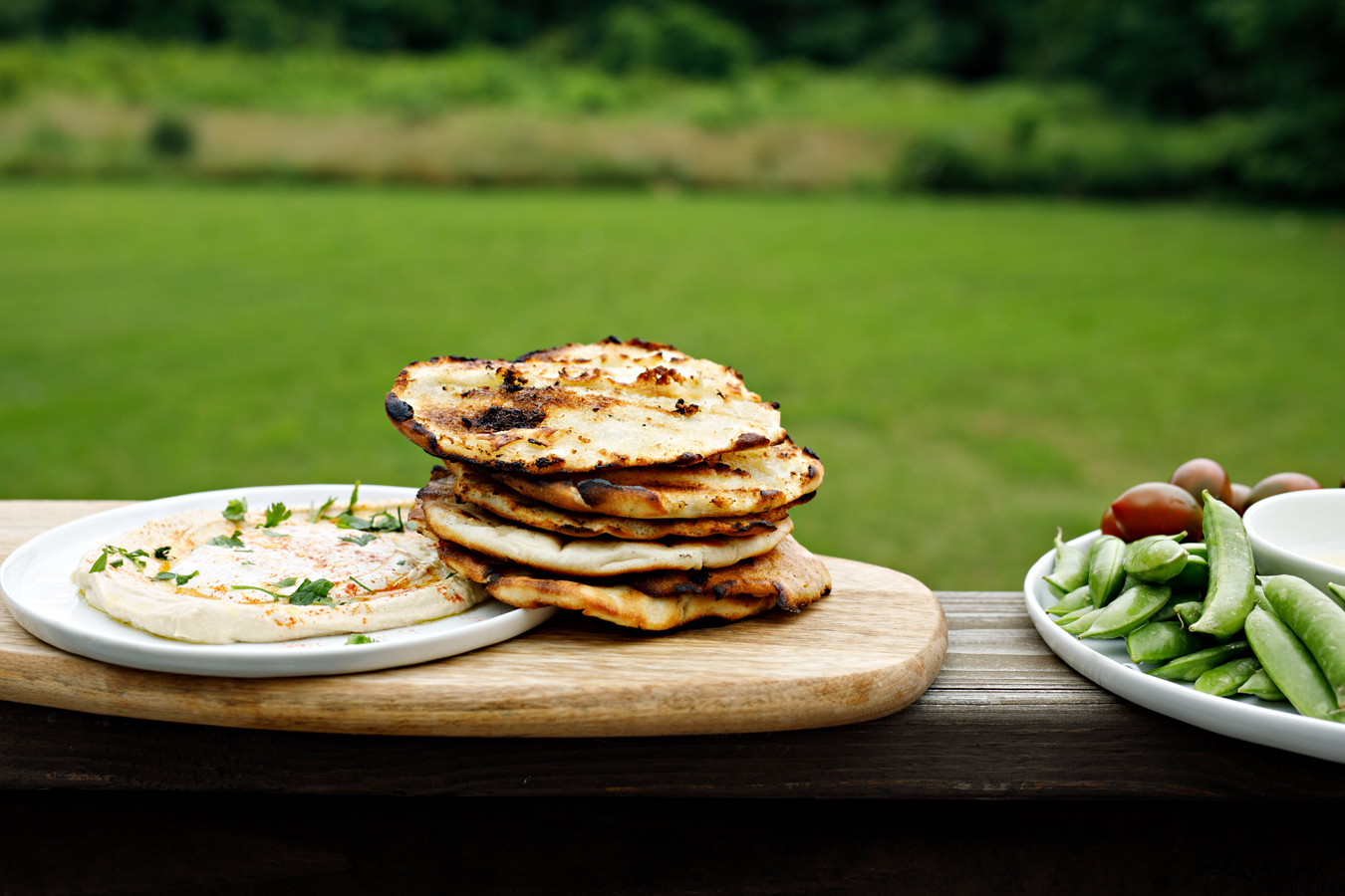 Why You Need Toasted Garlic Pitas at Your BBQ. It's the BBQ additions that make all the difference. And these garlicky pitas will be one of your best additions ever.