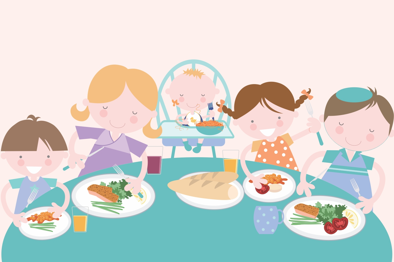 3 Ways to Make Meal Time with Kids Calm and Relaxing