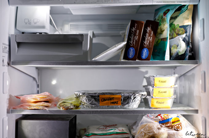 These freezer staples are always handy, and are there ready and waiting to save the day!