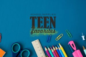 These are the School Supplies That Teens Love