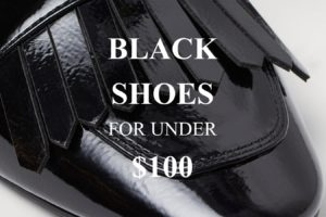 20+ Pairs of Black Shoes for Under $100